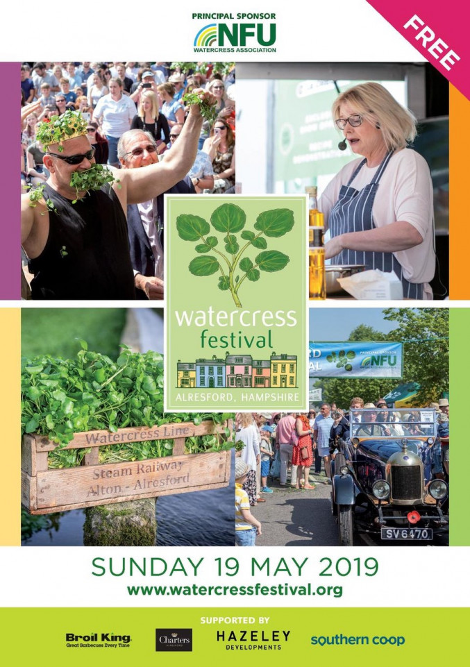 GRANDER® at the Watercress Festival on May 19